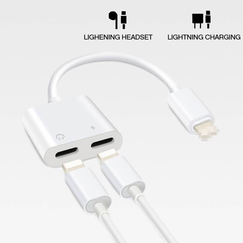 2in1 double Lightning adapter